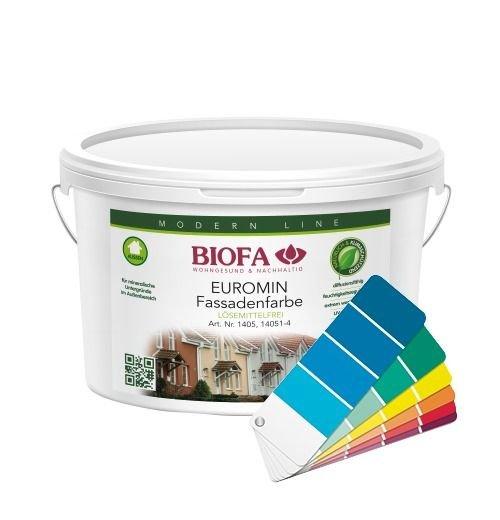 EUROMIN color Fassadenfarbe, 10 Liter 14051