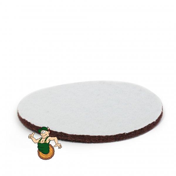 Pad rotbraun 150 mm für Exzenterschleifmaschine